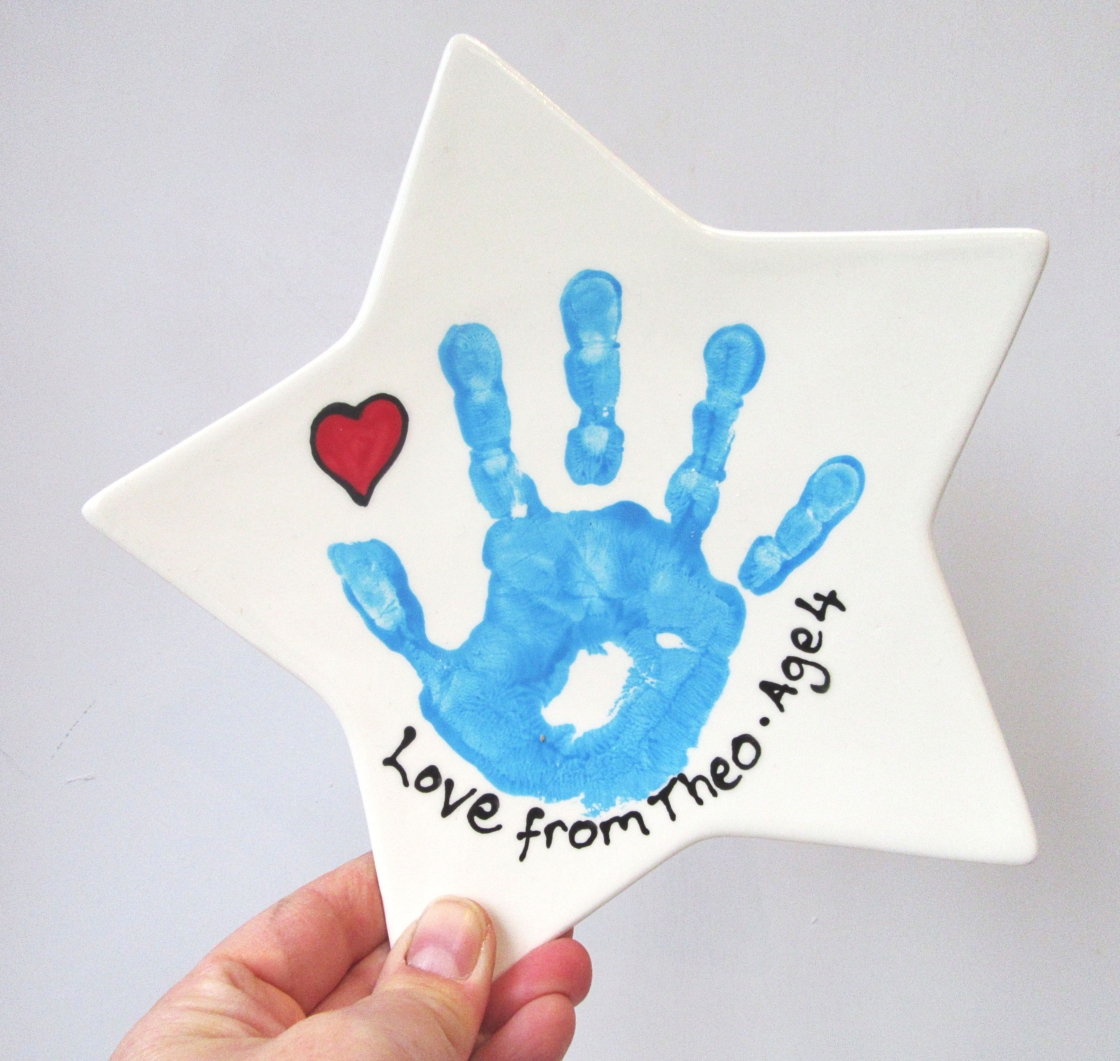 Handprint Keepsakes