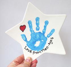 Handprint Keepsakes