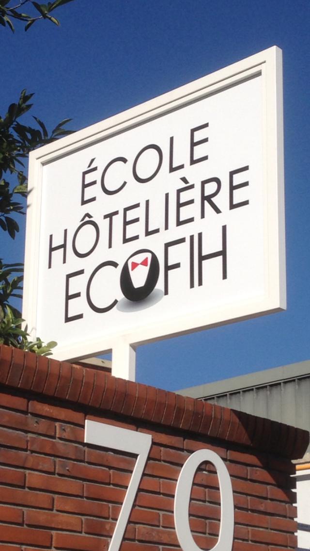 Panneau entrée ECOFIH