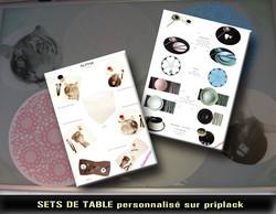 Set de table personnalisé