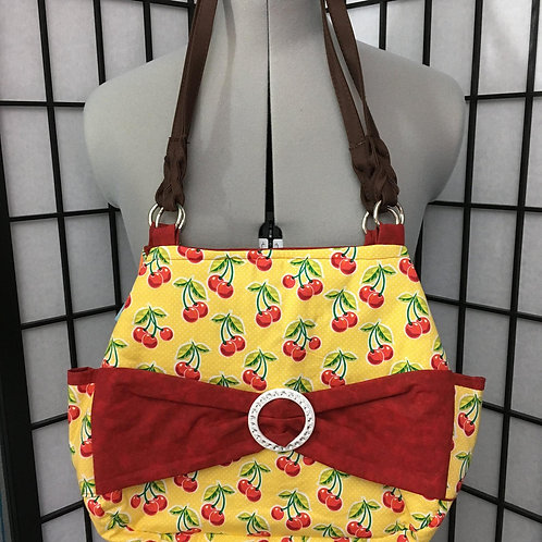 Summer Cherries Purse