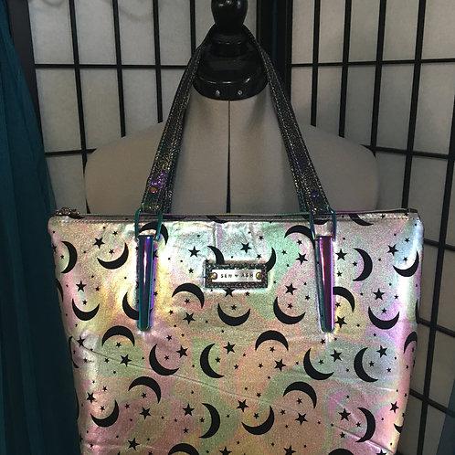 Moon & Stars Tote Handbag