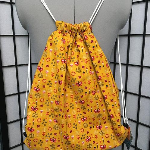 Butterflies Drawstring Backpack