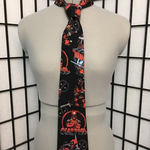 Deadpool Necktie
