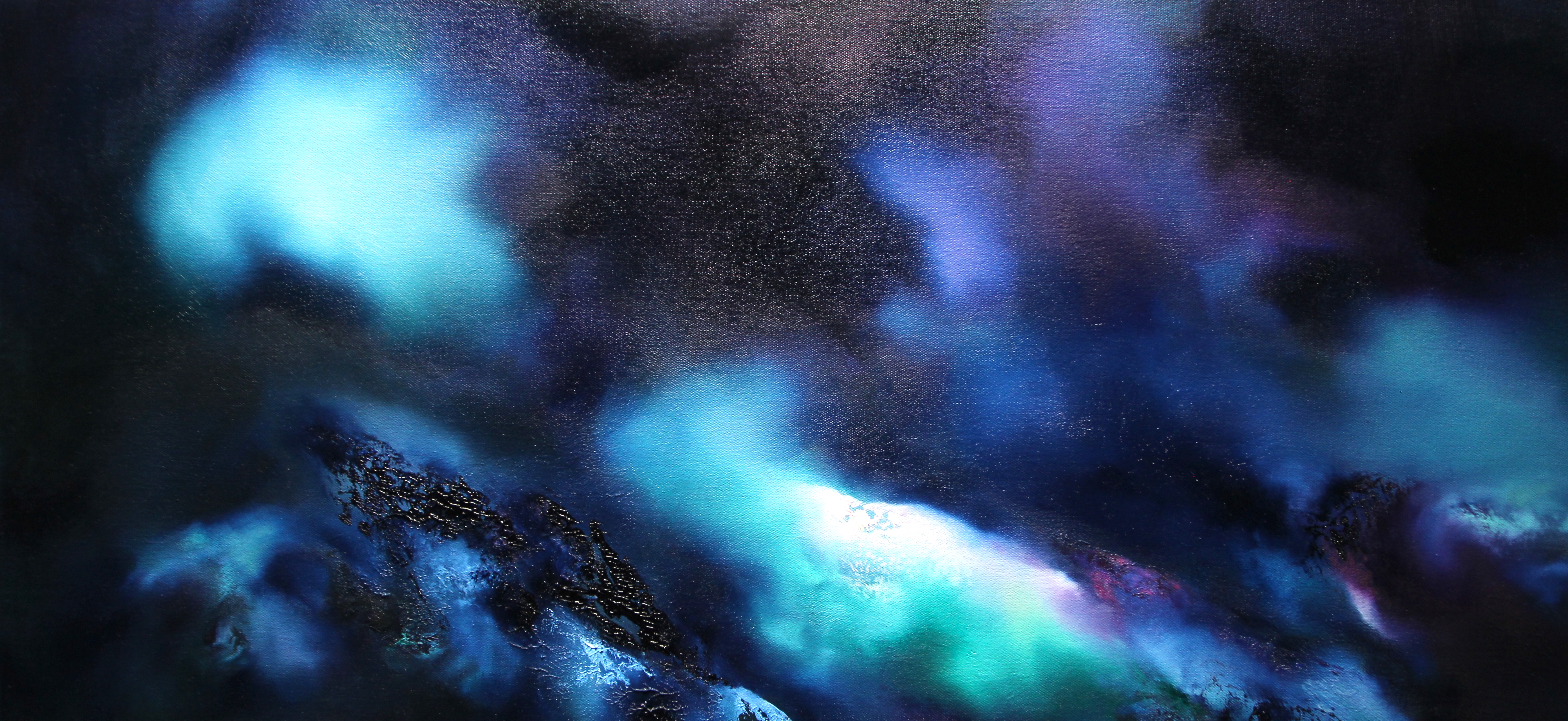 Dirgelwch y Nos/Night's Mystery 70 x 37cm