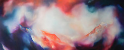 Cymylau Hedd/Tranquil Haze 1.3m x 50cm