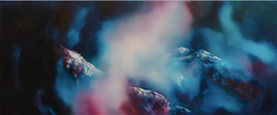 Niwl Pinc/Pink Haze 1.3m x 50cm