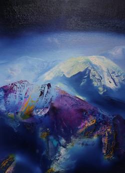 Dan Olau'r Lleuad/Under the Moonlight 20 x 25cm
