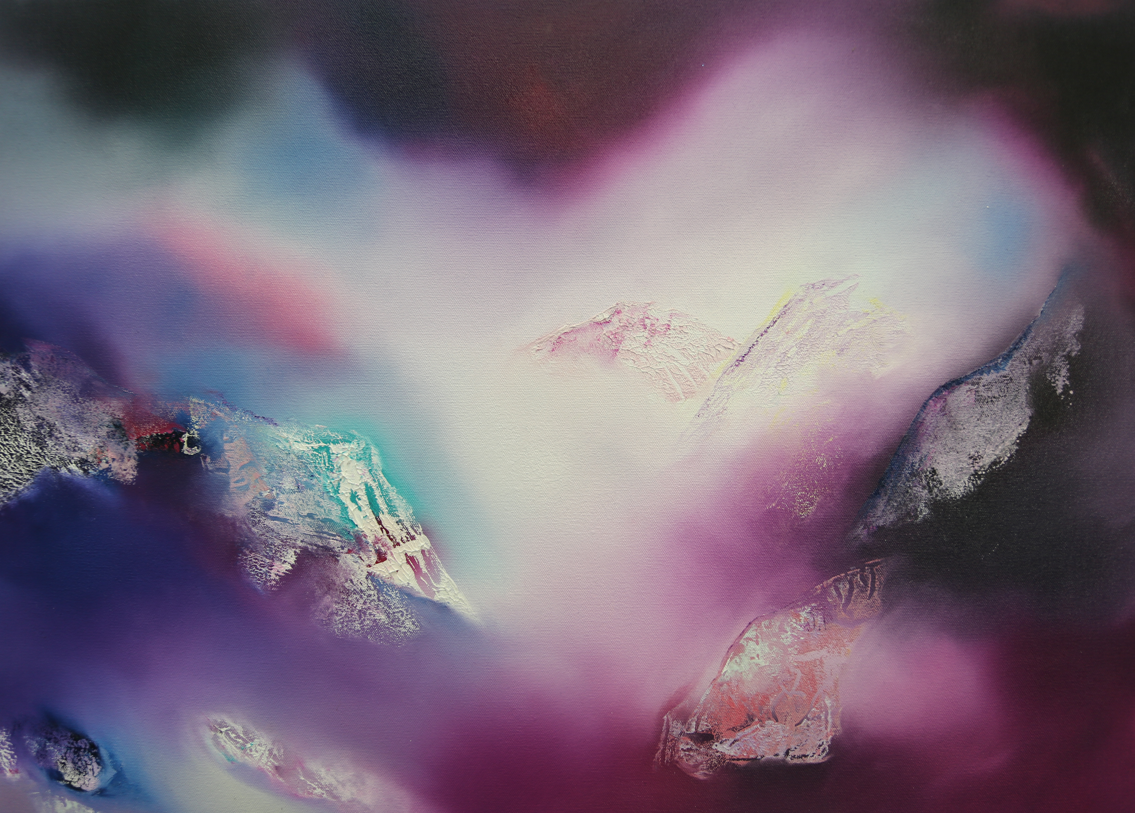 Eryri Pinc/Pink Snowdonia 40 x 30cm