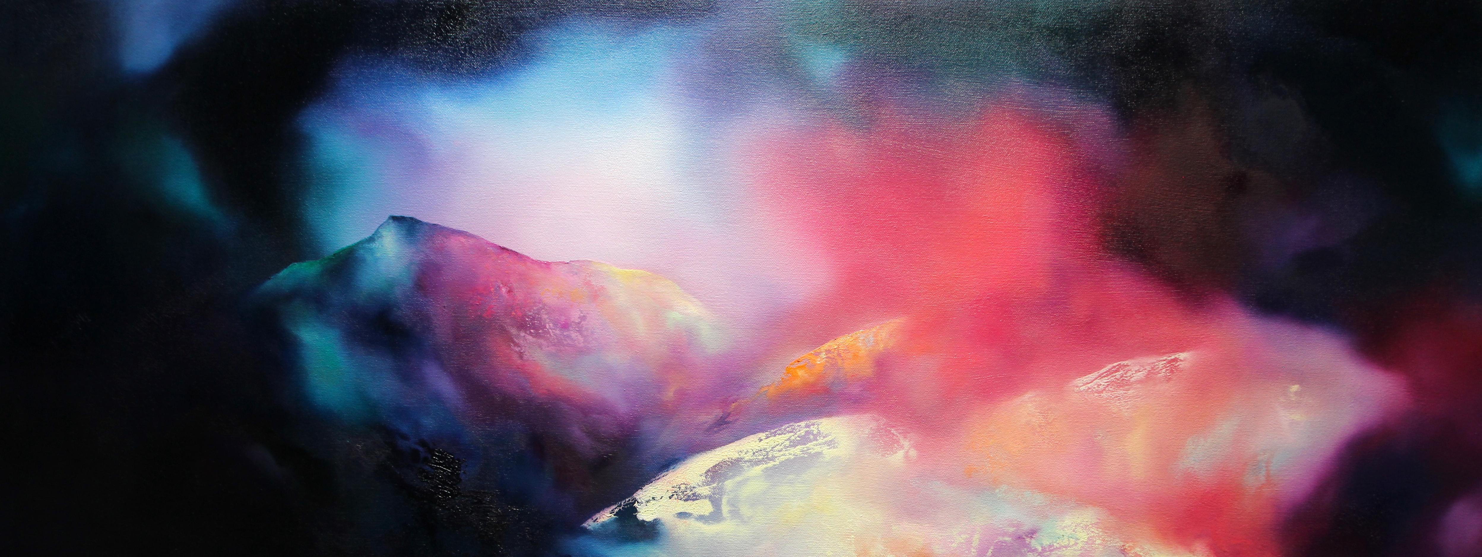 Cofio'r Wyddfa/Remembering Snowdonia 70 x 37cm