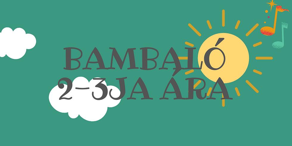 Bambaló 2-3ja ára 23. maí kl. 10:00