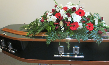 shone and shirley green timber casket.pn