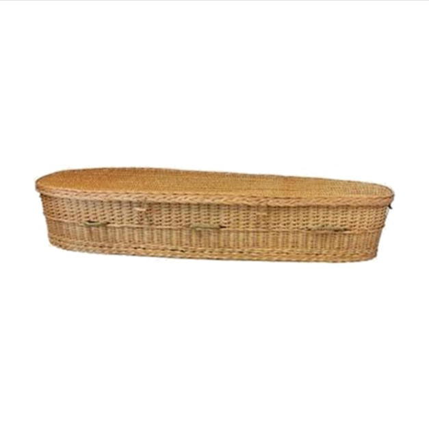 Natural Willow Casket