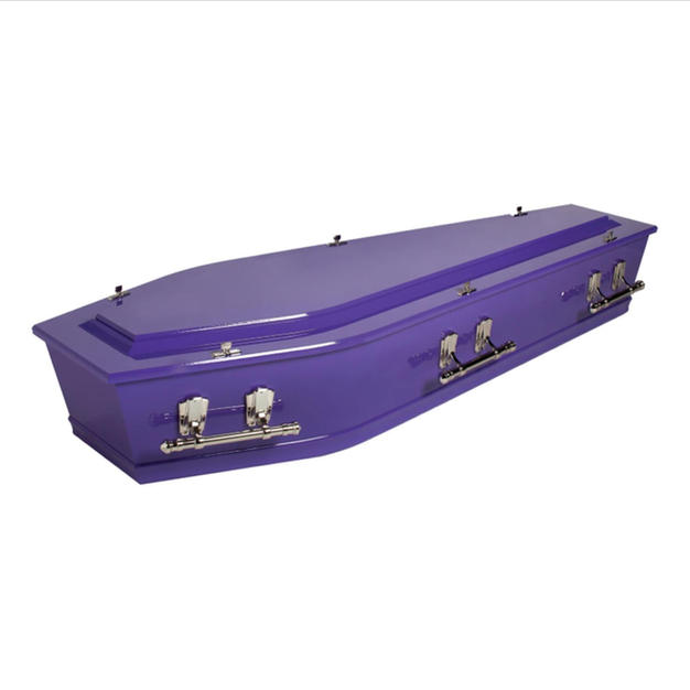 Custom Painted Casket
