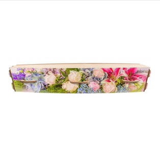 Floral Casket