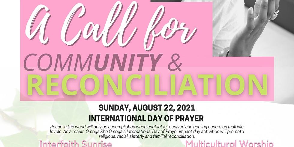 International Day of Prayer: Multicultural Worship Service