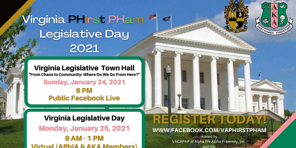 Virginia PHirst PHam Legislative Day
