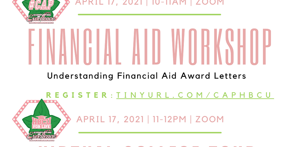 Financial Aid Workshop & Virtual College Tour