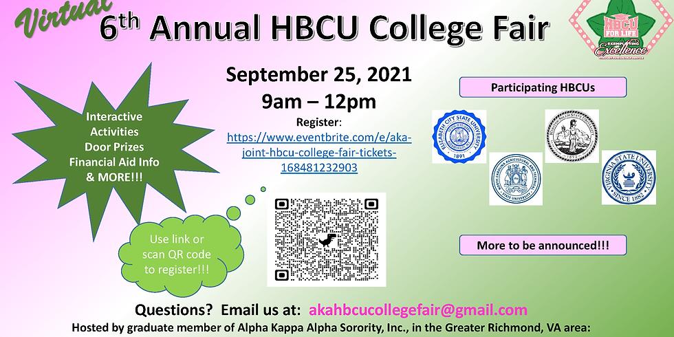 6th Annual HBCU College Fair