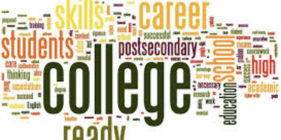 So You Want to Go to College: What you Need to Know NOW