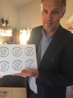 Stickers + Logo design