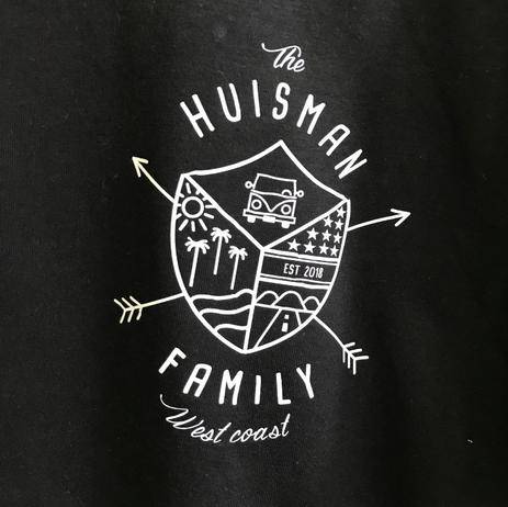 Familie logo op shirt
