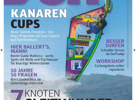 Ricardo Campello :  Thanks to German's SURF Magazine for the Front Cover of September Issue