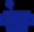 Mörser mit Pistill in blau Logo der Drogerei im Schwamedingerhuus Zürich