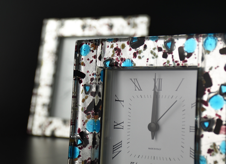 MURANO GLASS ALARM CLOCK