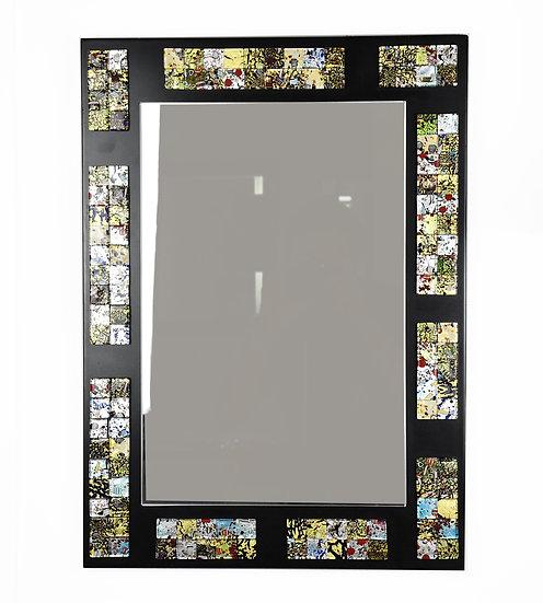 MURANO GLASS MIRROR 58X42 CM MOSAICS