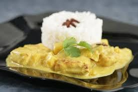 Matinée émincé de dinde au curry
