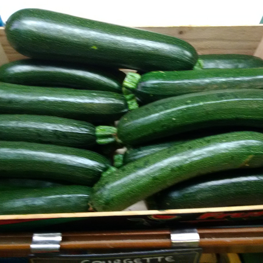 Courgettes Locales