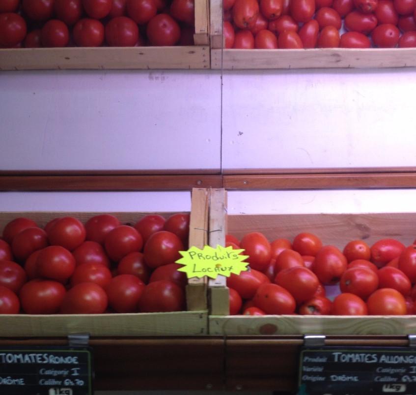Tomates locales
