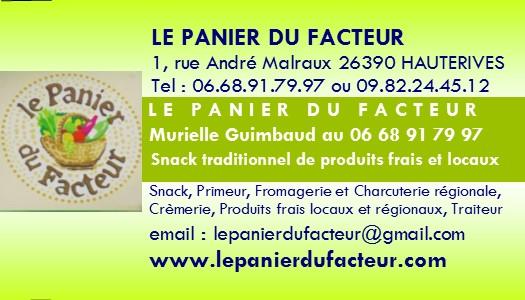 PUB Le Panier du Facteur