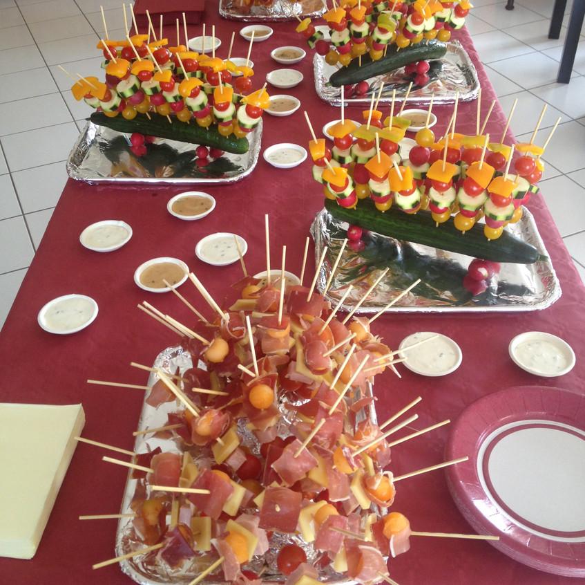 Brochettes de légumes-charcuterie-fr
