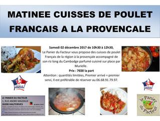 Matinée cuisses de poulet à la provençale