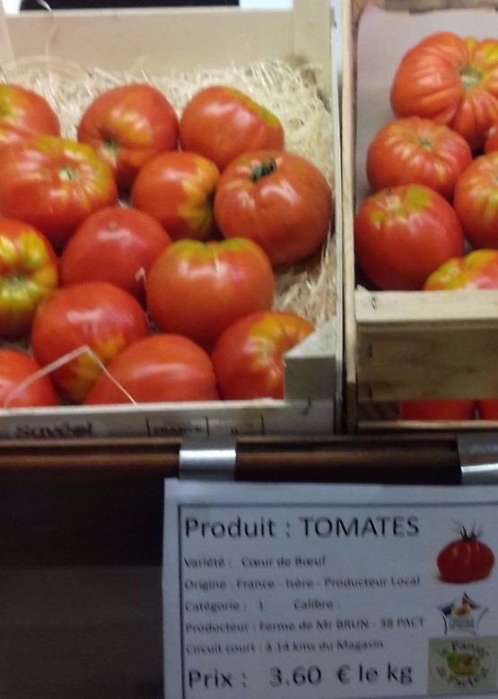 Tomates cœur de boeuf