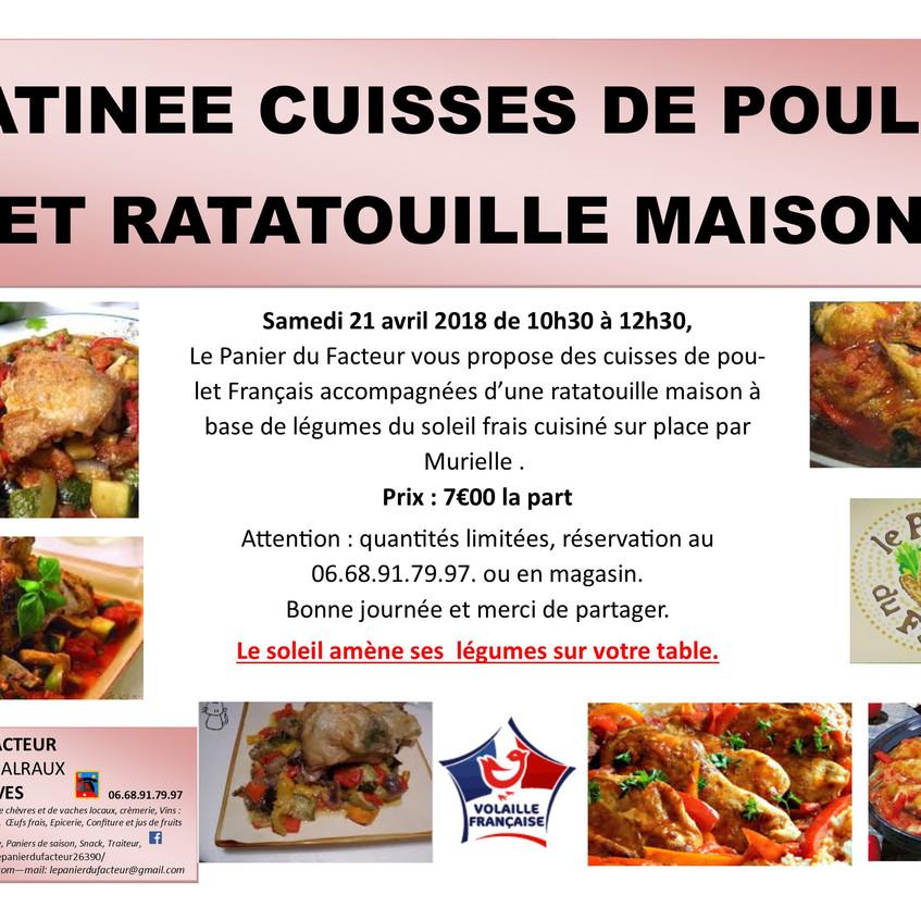 Pub_matinée_cuisses_de_poulet_ratatouille_2018