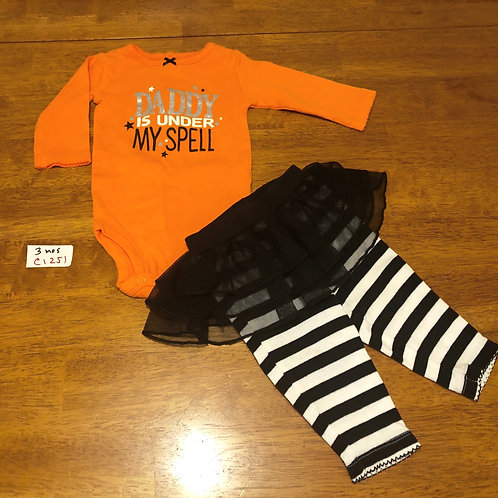 Children's Set- Onesie, pants, and skirt