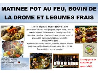 Matinée Pot au Feu et ses légumes frais
