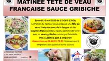 Matinée Tête de Veau Français