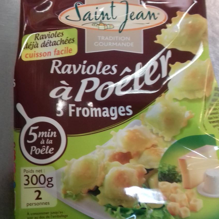 Ravioles à poêler Saint Jean