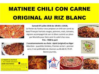 Matinée Chili Con Carne