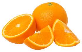 orange coupée