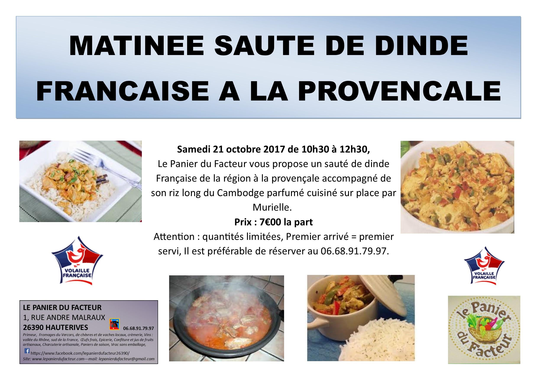 Matinée Sauté De Veau Marengo – Emploiaude
