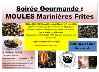 Moules Frites et huîtres de Bouzigues