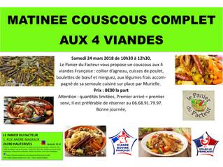 Matinée Couscous aux 4 Viandes