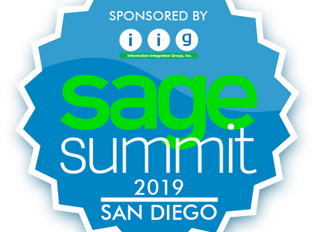 Visit IIG at Sage Summit San Diego