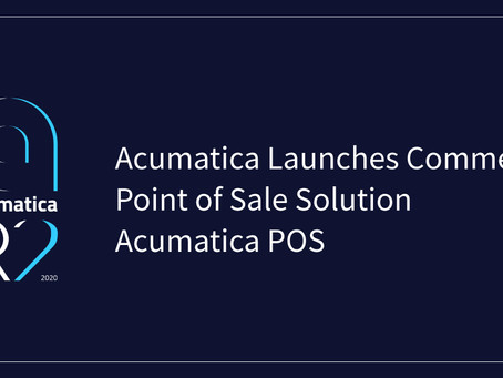 Acumatica Acquires IIG's Point of Sale System (AcuPOS)