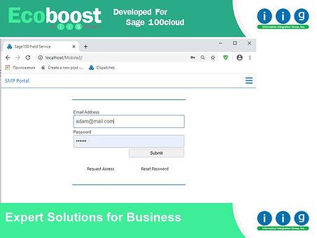 Customer Portal Sage100
